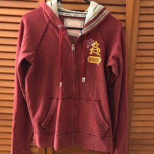 Victoria's Secret Pink ASU collegiate hoodie